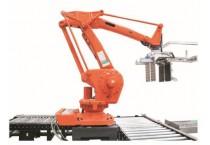 Automatic Robotic palletizer Untuk Bottling Air dan Minuman