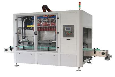 Automatisk Top-lasting sak Packer for Tapping Oil and Beer